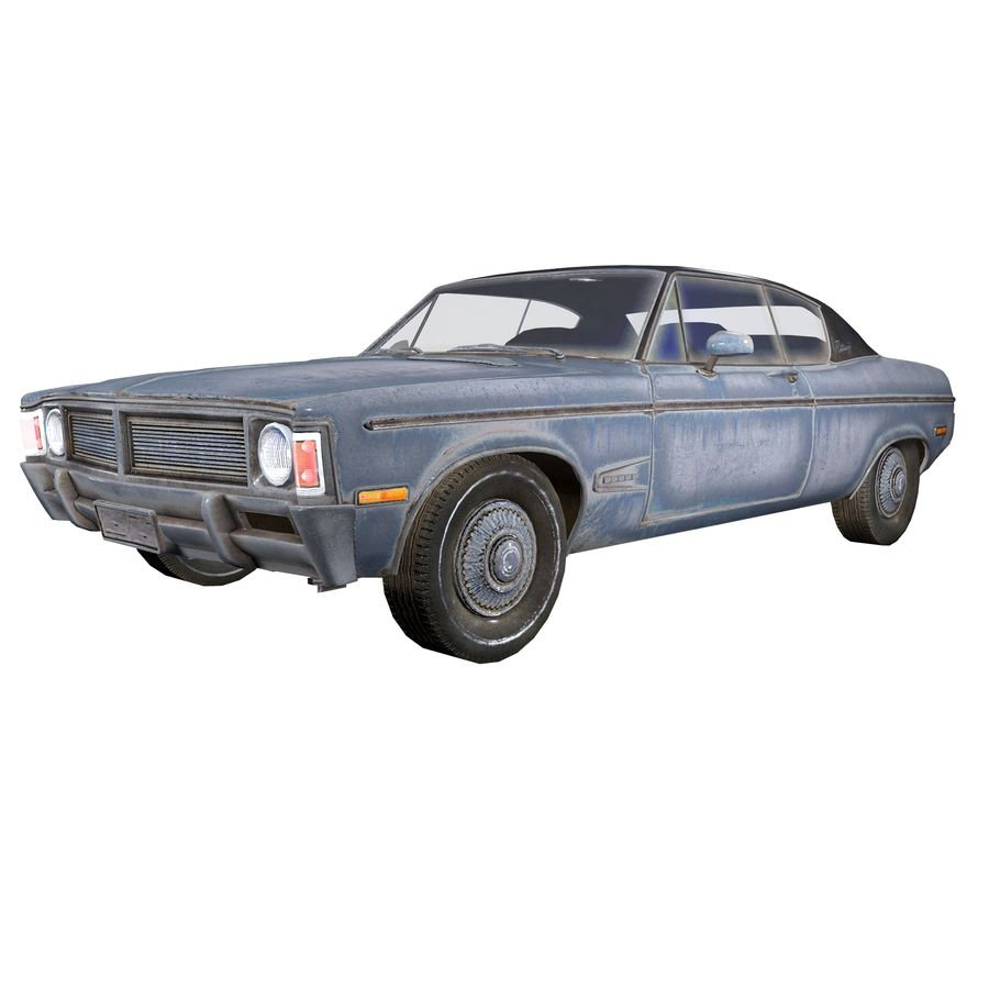 Универсальный автомобиль-купе royalty-free 3d model - Preview no. 1