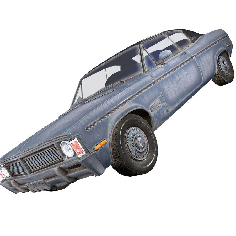 Универсальный автомобиль-купе royalty-free 3d model - Preview no. 2