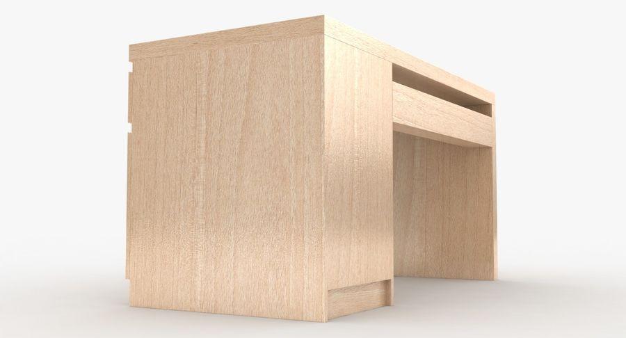 Ikea Malm Schreibtisch royalty-free 3d model - Preview no. 14