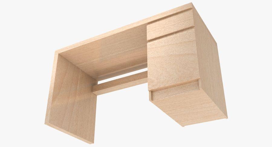 Ikea Malm Schreibtisch royalty-free 3d model - Preview no. 16
