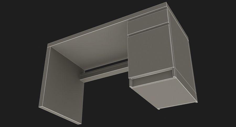 Ikea Malm Schreibtisch royalty-free 3d model - Preview no. 17