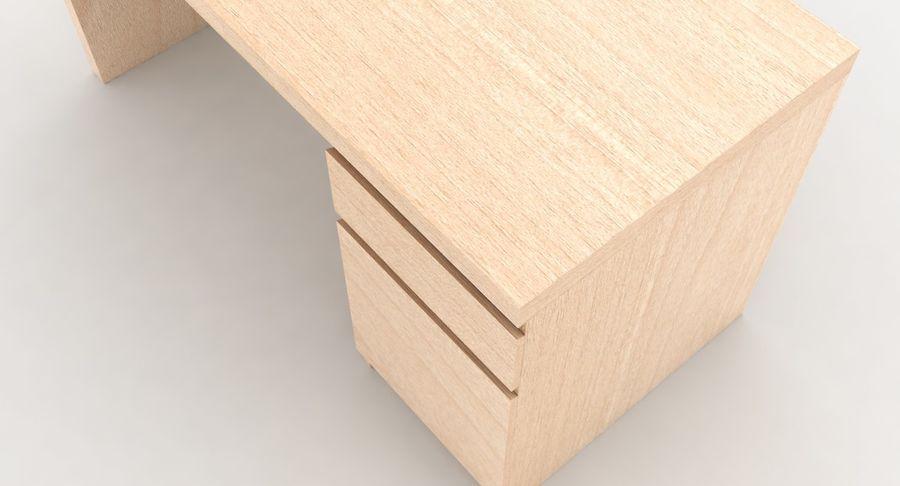 Ikea Malm Schreibtisch royalty-free 3d model - Preview no. 8