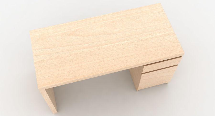 Ikea Malm Schreibtisch royalty-free 3d model - Preview no. 7