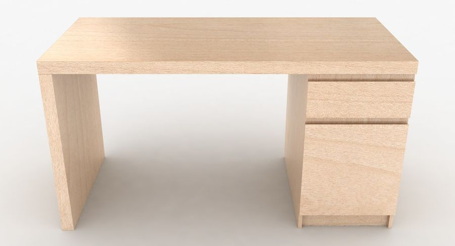 Ikea Malm Schreibtisch royalty-free 3d model - Preview no. 15