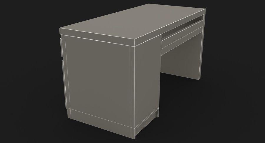 Ikea Malm Schreibtisch royalty-free 3d model - Preview no. 19
