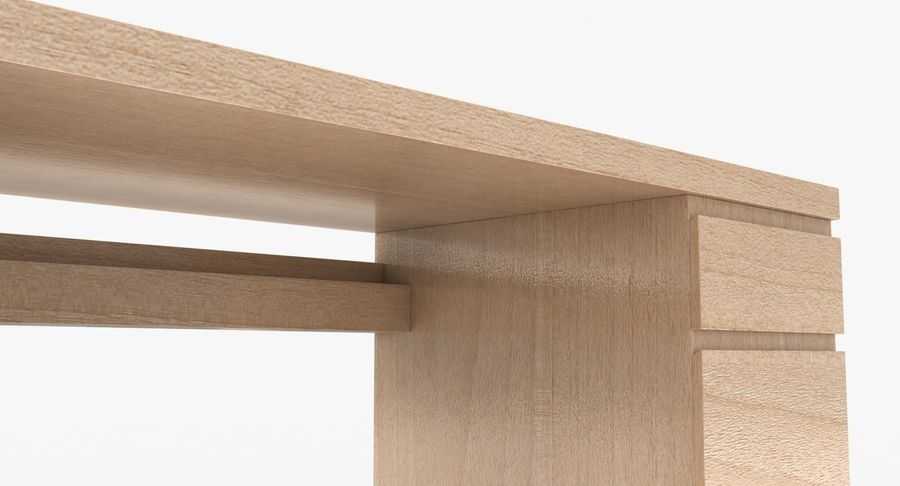 Ikea Malm Schreibtisch royalty-free 3d model - Preview no. 10