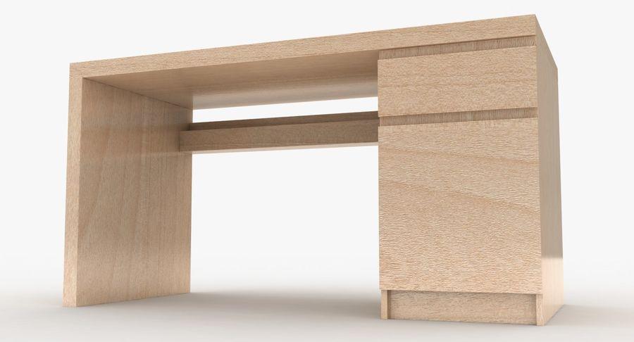 Ikea Malm Schreibtisch royalty-free 3d model - Preview no. 12