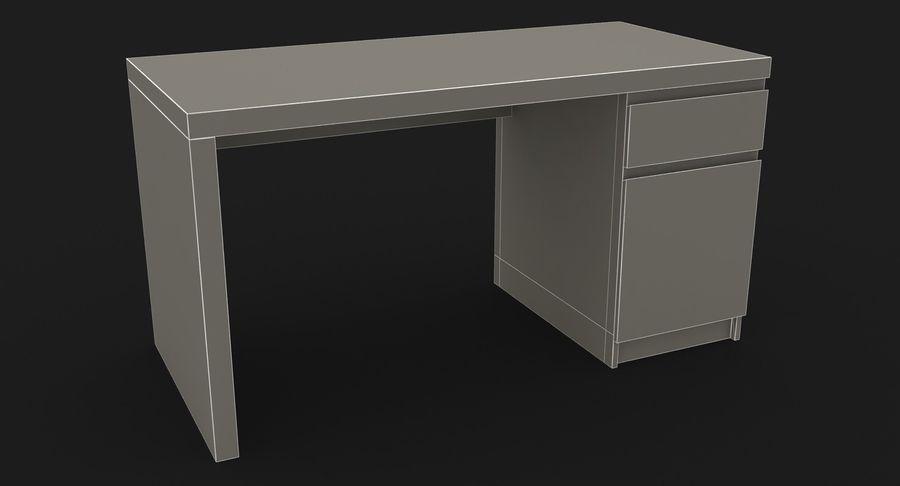 Ikea Malm Schreibtisch royalty-free 3d model - Preview no. 22