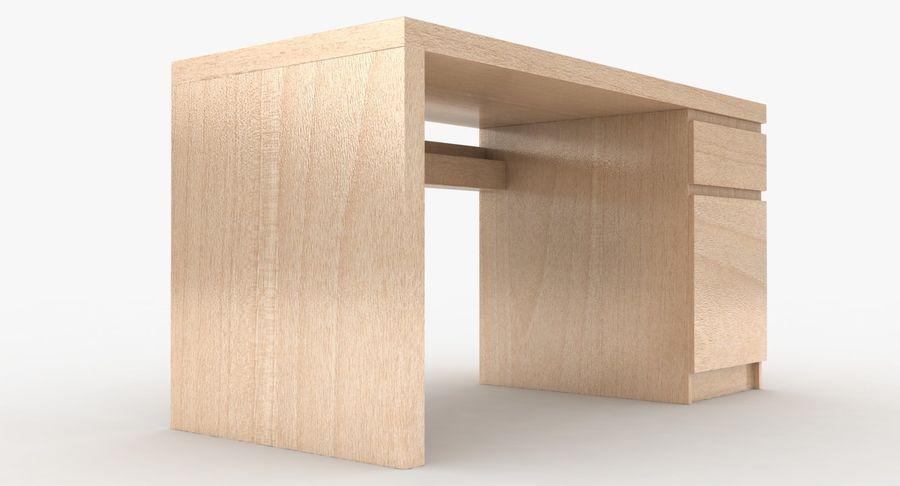 Ikea Malm Schreibtisch royalty-free 3d model - Preview no. 5