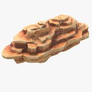 Blocky Rock 3d model