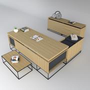 Burotime Grid Boss Ceo Table 3D模型 3d model