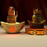 Chinese Lucky Cat 3d model