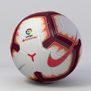 Soccer Ball Nike Merlin LaLiga 2018/19 3d model