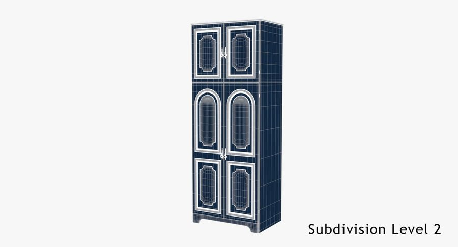 Kast (1) royalty-free 3d model - Preview no. 9