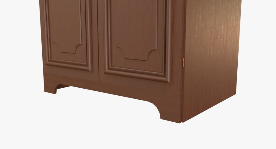 Kast (1) royalty-free 3d model - Preview no. 6