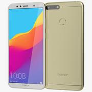 Honor 7A Gold 3d model