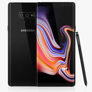 Samsung GALAXY Note 9 Black 3d model