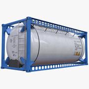 ISO 20ft Insulated Liquid Tank 3d model