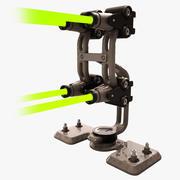 Sci-fi Laser Barrier 3d model
