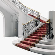 Classic staircase 2 3d model