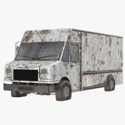 Ржавый грузовик 3d model