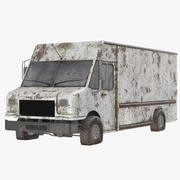 Rusted truck 3d model
