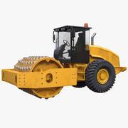 Soil Compactor 3d model
