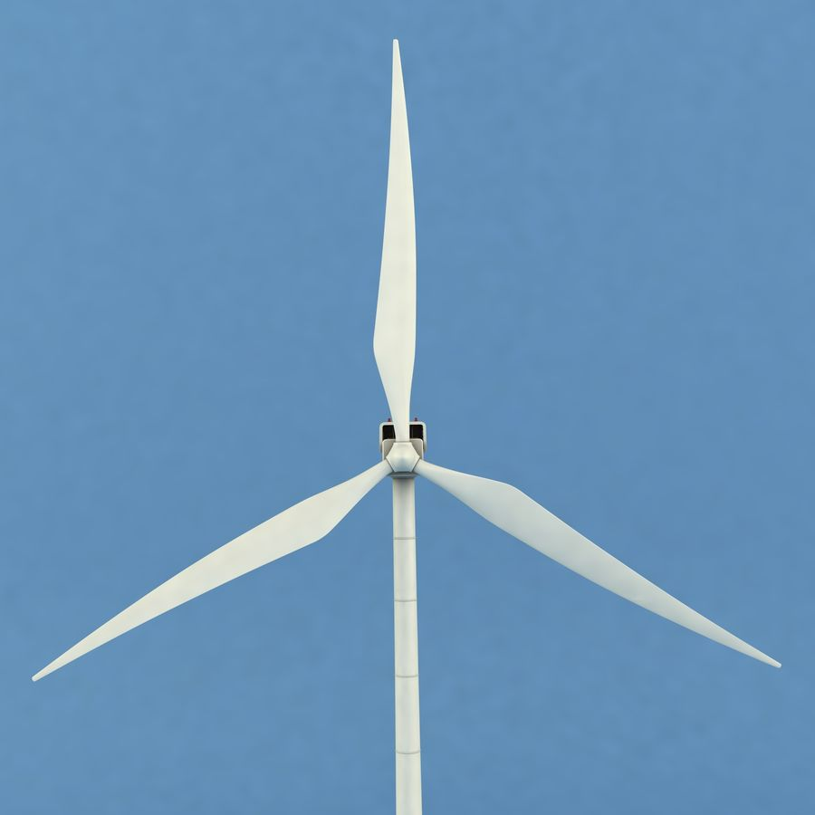 Wind Generator royalty-free 3d model - Preview no. 6