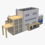 Industrieel gebouw 9 3d model