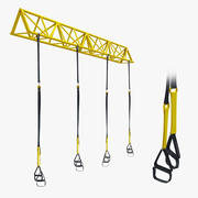 Modelo 3D GYM TRX Sport Equipment 3d model
