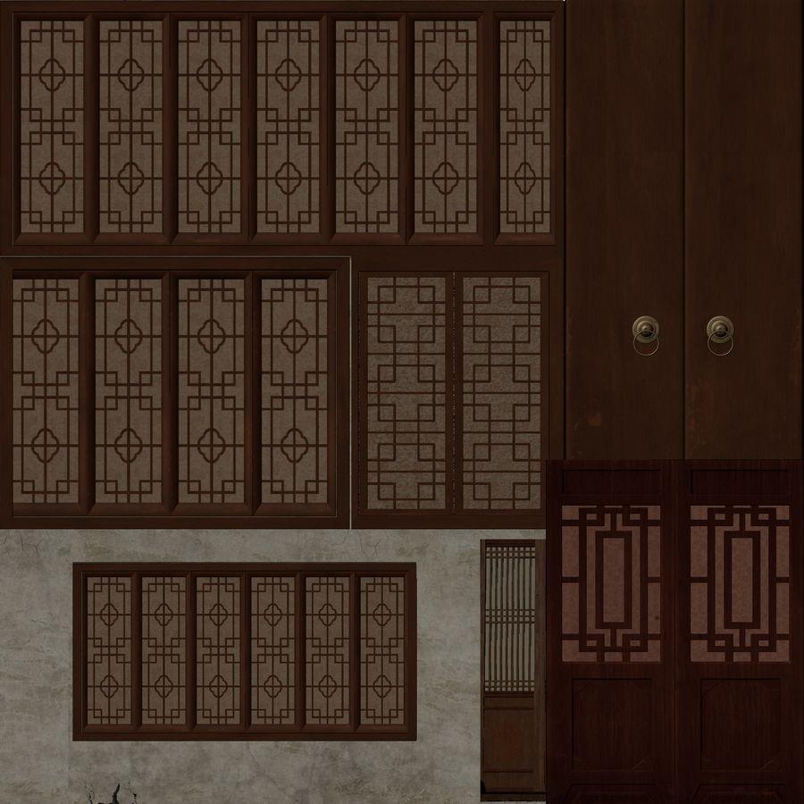 arquitectura antigua china royalty-free modelo 3d - Preview no. 5