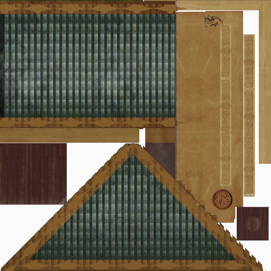 arquitectura antigua china royalty-free modelo 3d - Preview no. 4