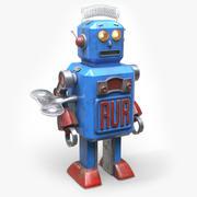 Robot-zabawka 3d model