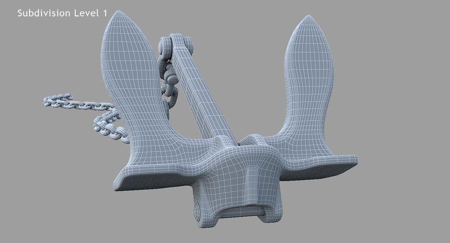 Âncora royalty-free 3d model - Preview no. 15