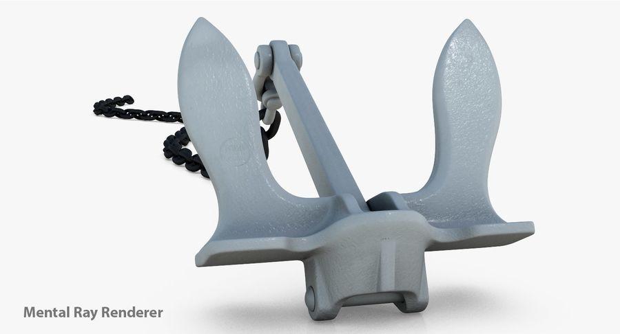 Âncora royalty-free 3d model - Preview no. 4