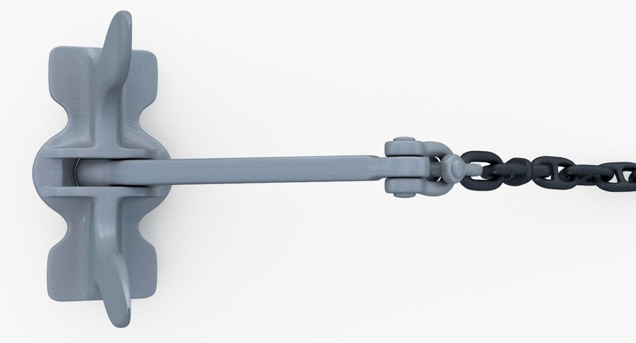 Âncora royalty-free 3d model - Preview no. 17