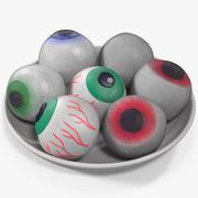 Candy Eyeballs 3d model