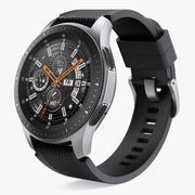 Samsung Galaxy Watch 46mm Srebrny 2018 3d model