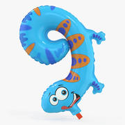 Balloon Number Nine 3d model