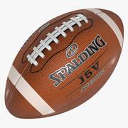 American Football Sports Ball Spalding Official 3d model