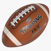 American Football Sports Ball Spalding Official 3d model