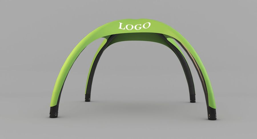Event Tent royalty-free 3d model - Preview no. 4