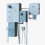 Skrzynka elektryczna 3d model