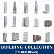 Megapack de construção da cidade 3d model