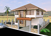 2 Storey Architectural House 3d model