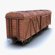 Güterwagen LOD1 3d model