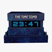 Zaman Türbesi Ayarlanabilir Masa Saati 3d model