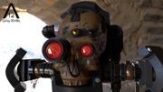 Servo Skull modelo 3d