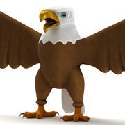 Мультфильм орел 3d model
