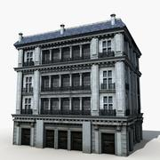 Старое здание 19 3d model